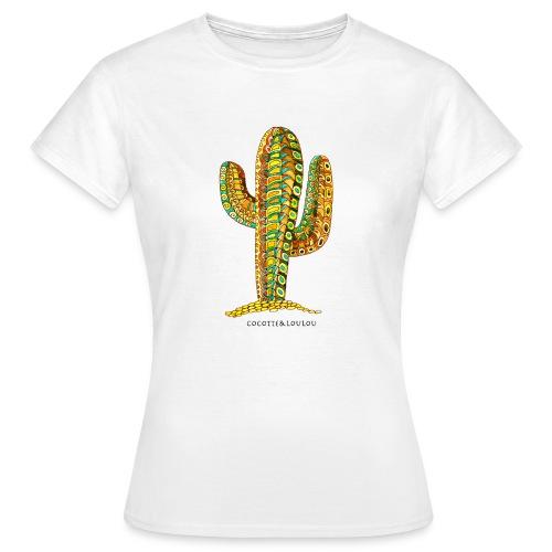 Le cactus - T-shirt Femme