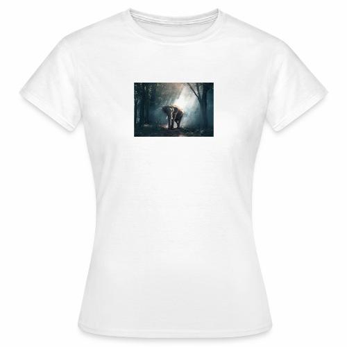 elephant 1822636 480 - Frauen T-Shirt