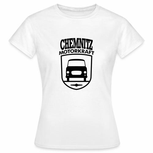Barkas B1000 Motorkraft Chemnitz coat of arms - Women's T-Shirt
