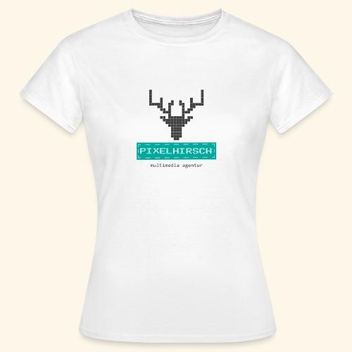 PIXELHIRSCH - Logo - Frauen T-Shirt