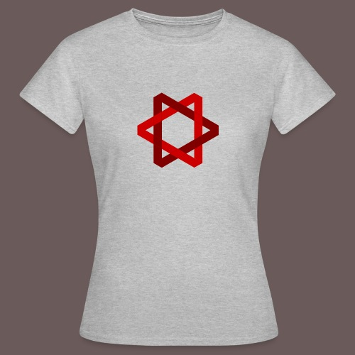 Two Triangles - Dame-T-shirt