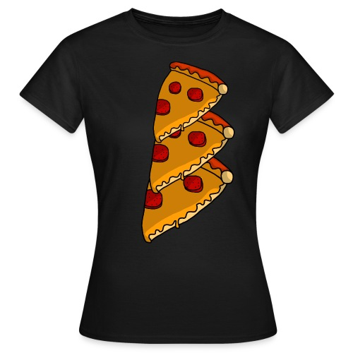 pizza - Dame-T-shirt