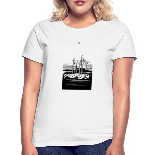 Revenge Capitalism (on white) - Women's T-Shirt