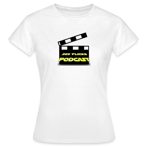 365 Flicks Podcast Logo jpg - Women's T-Shirt