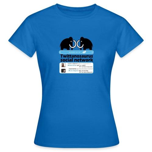 homo sapins versus neandertal - T-shirt Femme