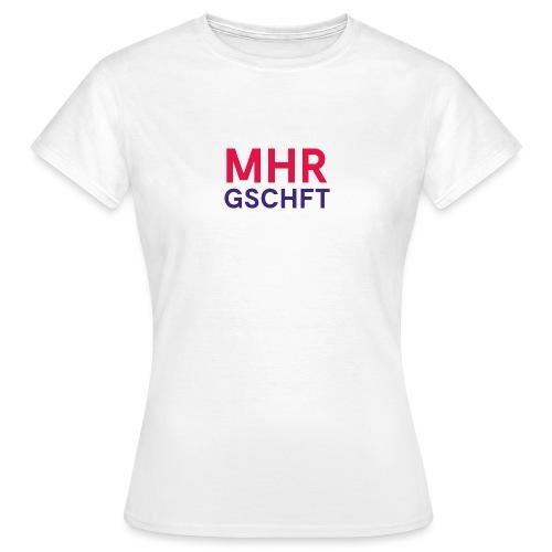 MHR GSCHFT (rot/blau) - Frauen T-Shirt