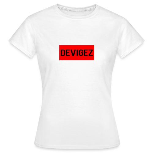 devigez original - T-shirt dam