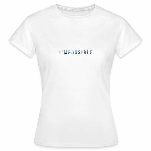 I'mpossible Waves - Women's T-Shirt