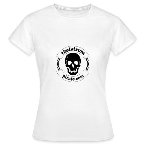 thefatrumpirate Logo - Women's T-Shirt