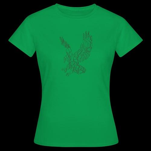 Eagle circuit - Dame-T-shirt