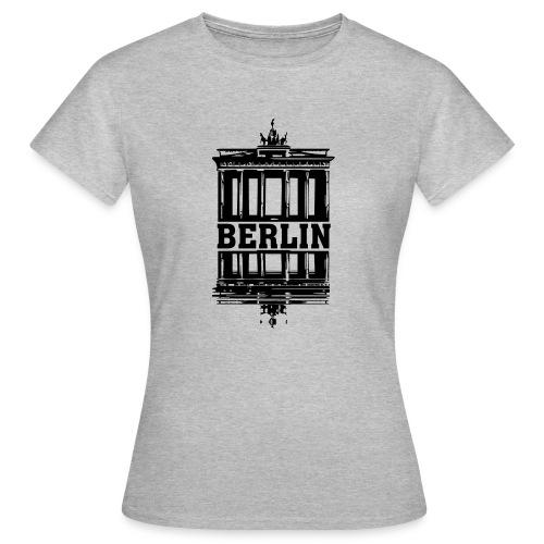 Berlin Brandenburger Tor Wasserspiegelung cool - Frauen T-Shirt