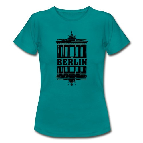 Berlin Brandenburger Tor Wasserspiegelung cool - Frauen T-Shirt