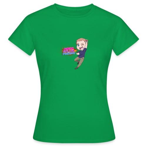 Jørgen spiller lommemonstre - Dame-T-shirt