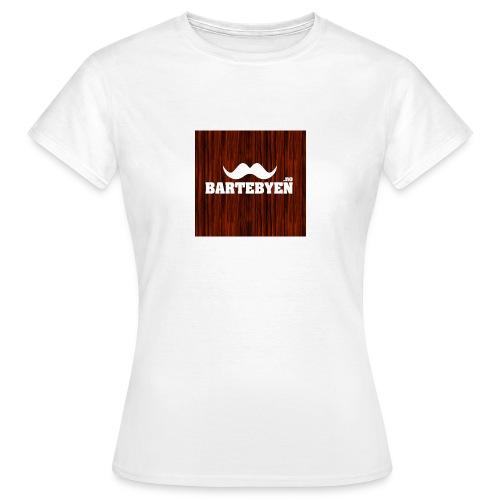 logo bartebyen buttons - T-skjorte for kvinner