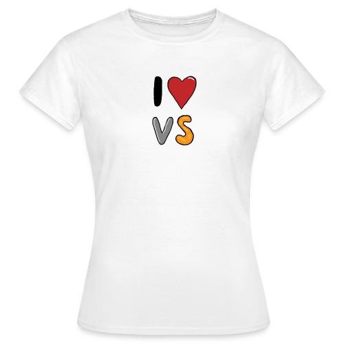 I heart VS - Women's T-Shirt