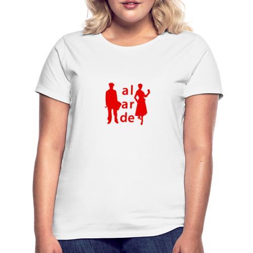 Soldado Cantinera Alarde Rojo - Camiseta mujer
