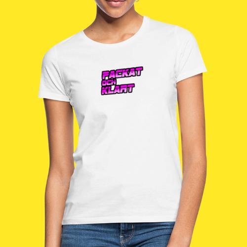 Logo Lila Klar Damer - T-shirt dam