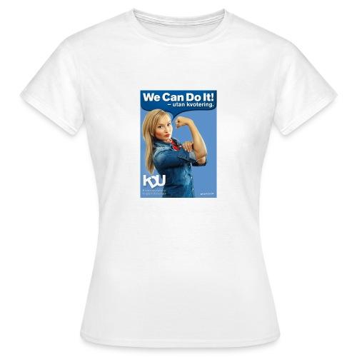 affisch tshirt - T-shirt dam