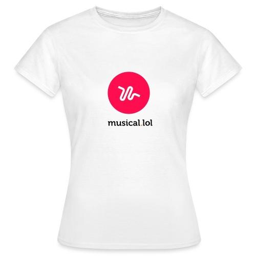 musicalol - T-shirt Femme
