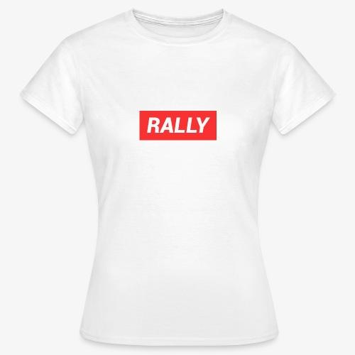 Rally classic red - T-shirt dam