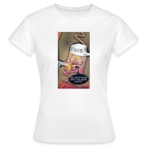 Coussin gangsta😃 - T-shirt Femme