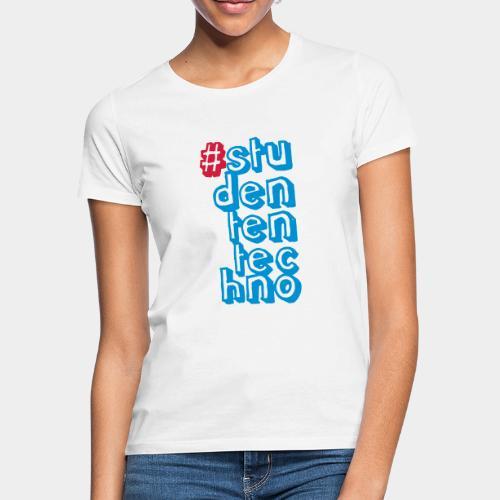#studententechno (groß) - Frauen T-Shirt