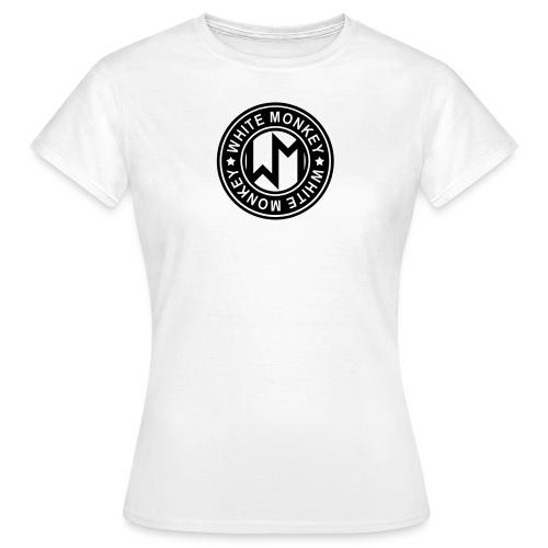 WM LOGO CIRKEL - T-shirt dam