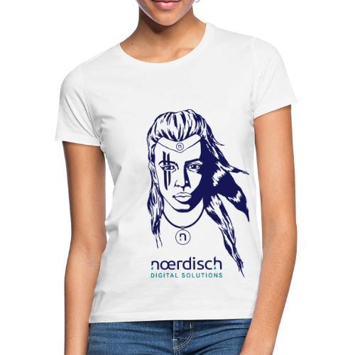 Viking-Woman_Noerdisch_17 - Frauen T-Shirt