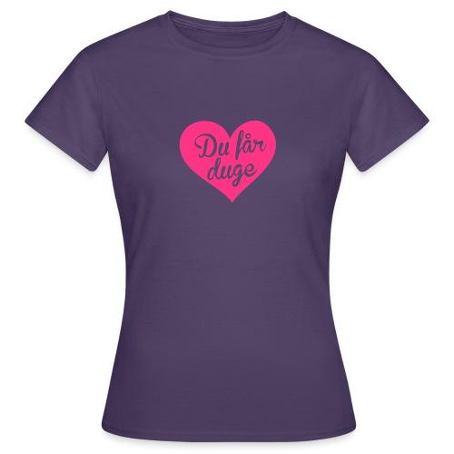 Ekte kjærlighet - Det norske plagg - T-skjorte for kvinner