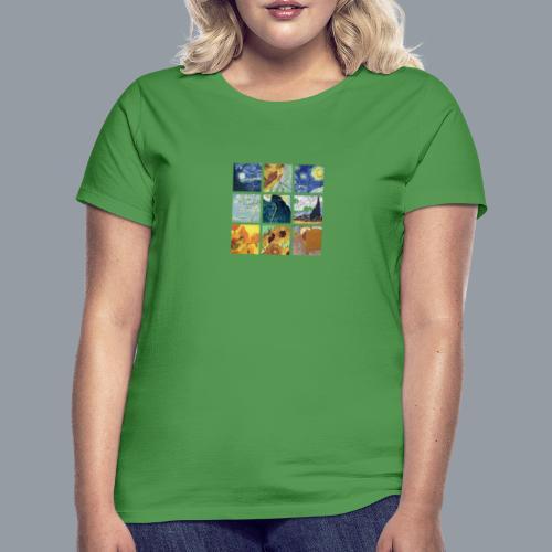 VAN GOGH COLLAGE - Camiseta mujer