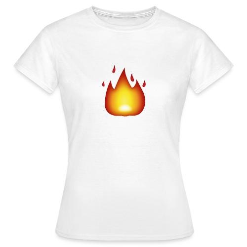 Fire Emoji - Women's T-Shirt