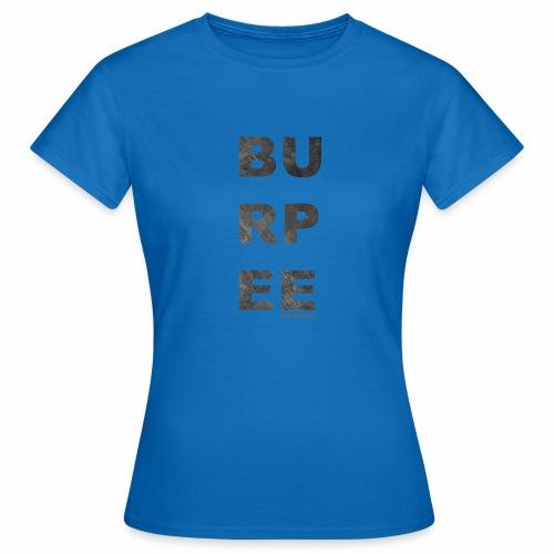 CF Naantalin burpeepainatus - Naisten t-paita