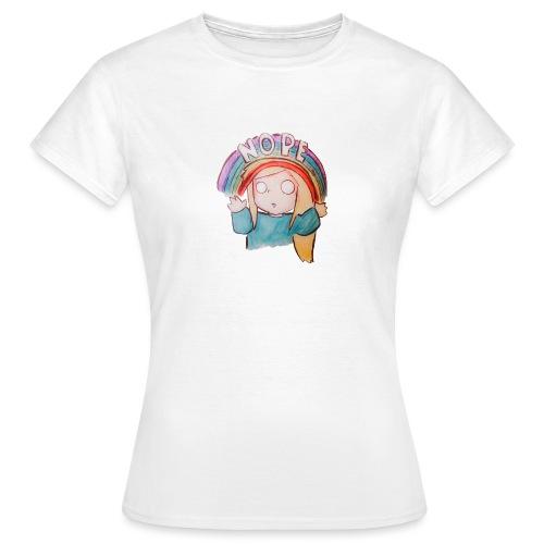 Nope. - Women's T-Shirt