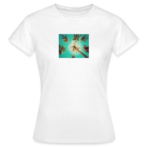 palm pinterest jpg - Women's T-Shirt