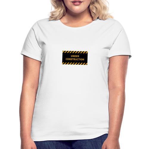 construction industrial - T-skjorte for kvinner