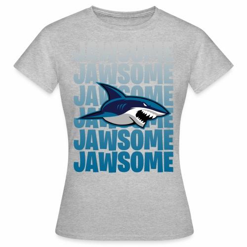 Jawsome - T-shirt dam