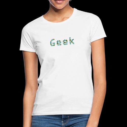 Hawaiian Geek - T-shirt Femme