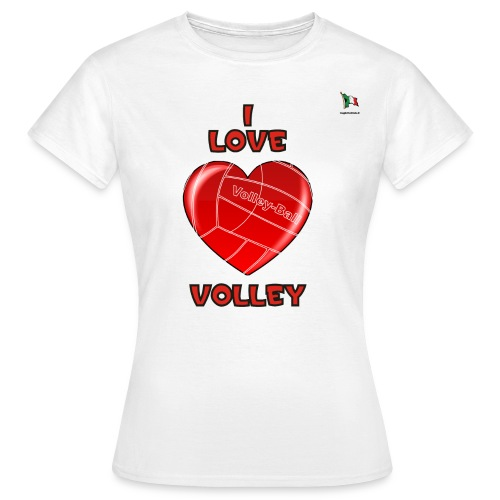 i love volley 2 - Maglietta da donna