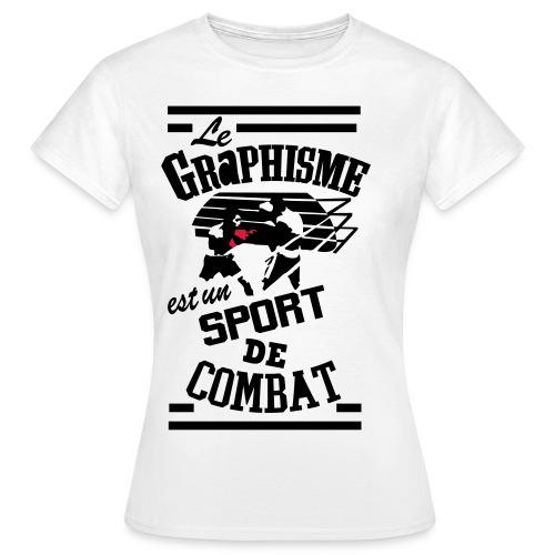 Graphisme - T-shirt Femme