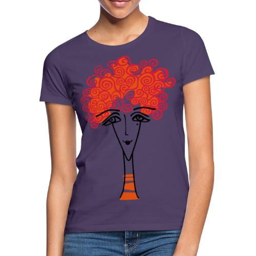 Viso di donna - Maglietta da donna