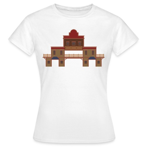 Western Building - Women's T-Shirt
