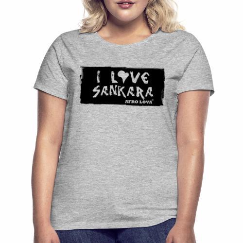 i love sank - T-shirt Femme