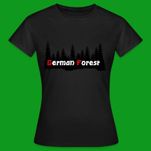 GermanForest 2 png - Frauen T-Shirt