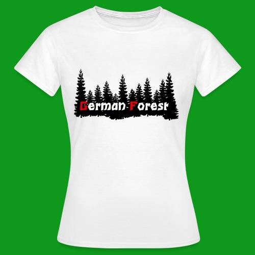 GermanForest 2 png - Frauen T-Shirt