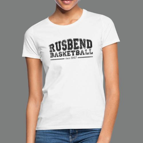 Rusbend Logo Schwarz - Frauen T-Shirt