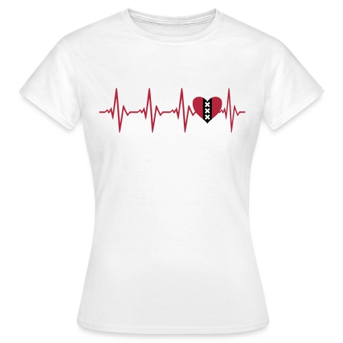 Hartslag dames - Vrouwen T-shirt