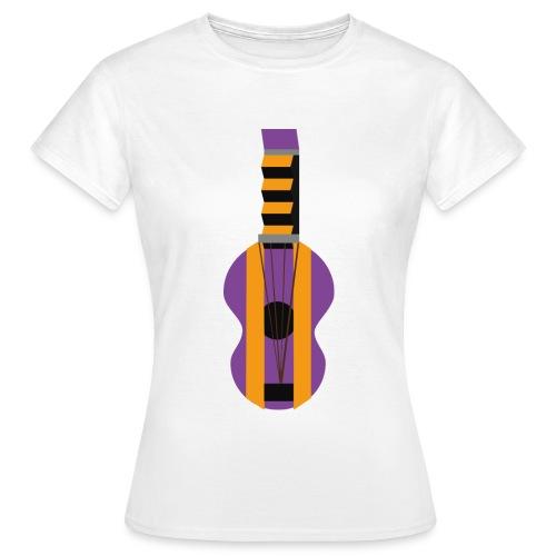 La Gitarre - T-skjorte for kvinner