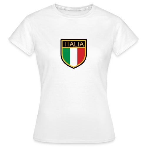 SCUDETTO ITALIA CALCIO - Maglietta da donna