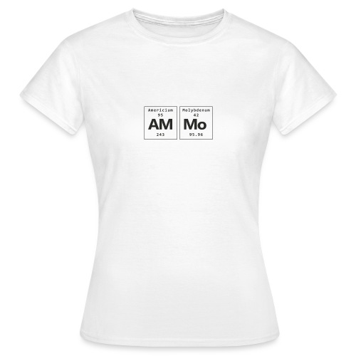 Ammo - Dame-T-shirt