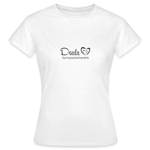 doula sydämet synnytystukihenkilö - Naisten t-paita